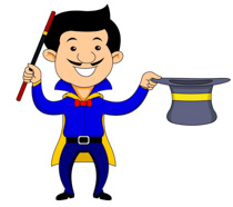 Magician clipart circus. Free clip art pictures