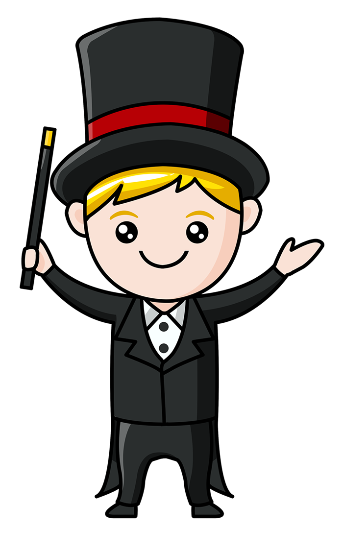 Carnival clipart magician. Pin by roger wimbush