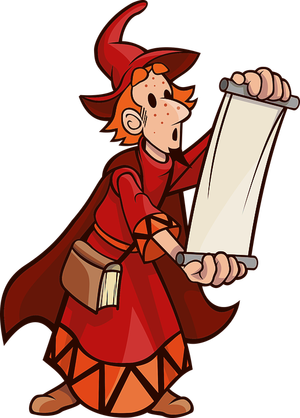Wizard clipart spell. Top most useful cantrips