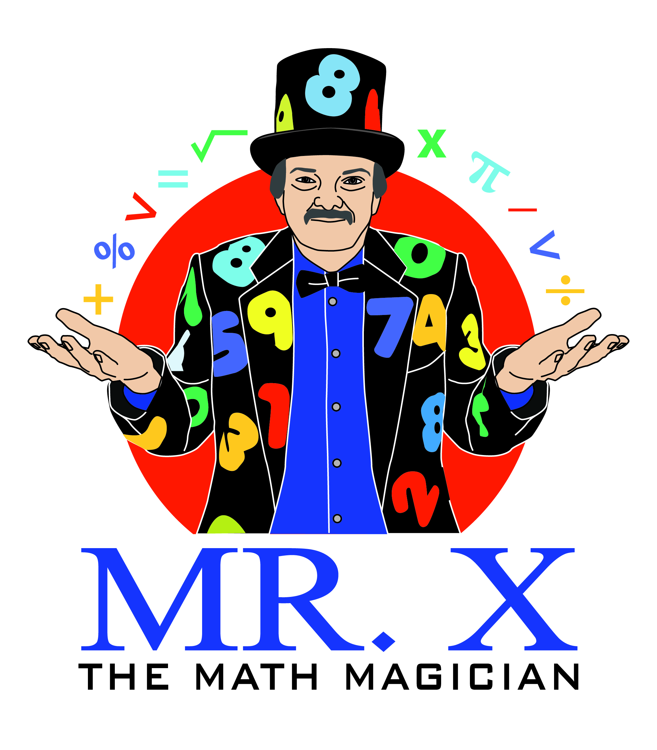 Introducing mr x the. Magician clipart magic word transparent library