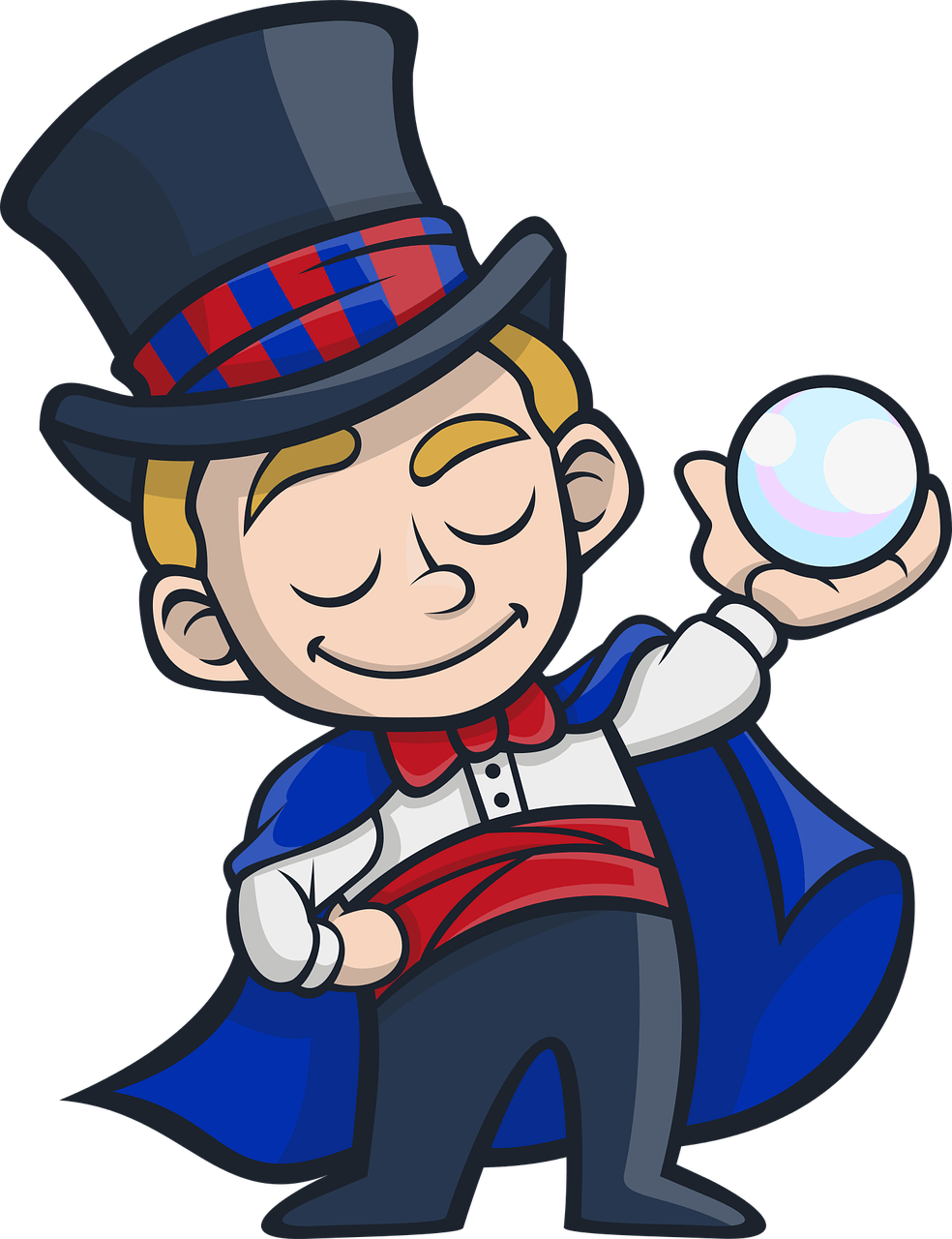 Misdirection in coaching be. Magician clipart tricky image stock