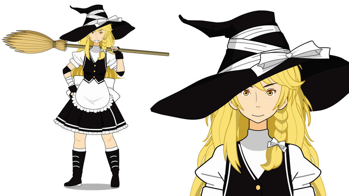 Magician clipart uniform. Ordinary western touhou project