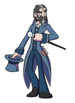 Magician clipart uniform. The by brightsidery on