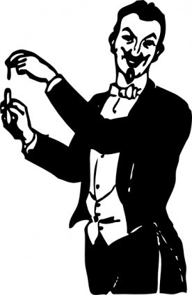 Magician clipart vintage. Free stage and vector