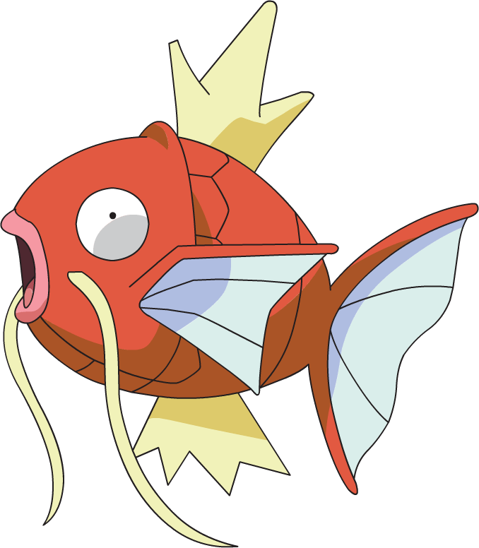 magikarp transparent red