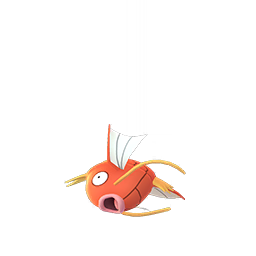 Magikarp transparent female. Pok mon go