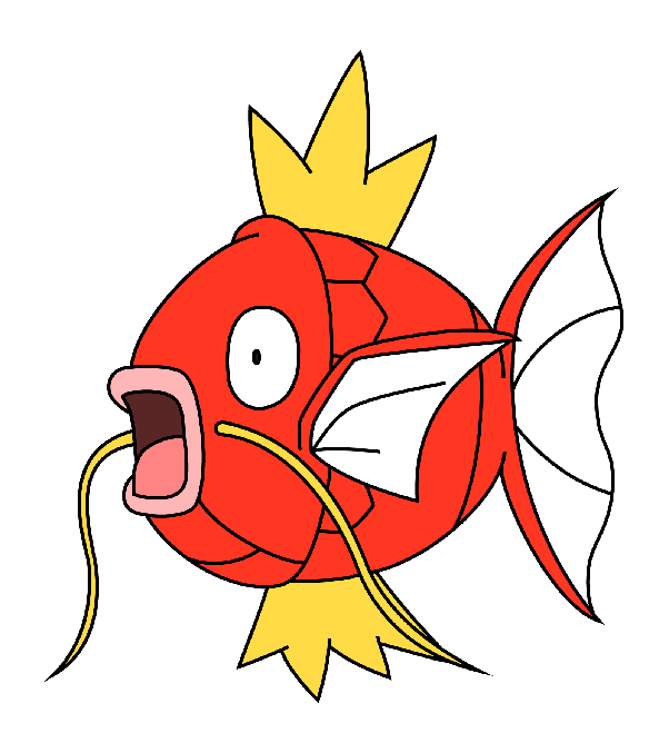 Magikarp transparent red. Why is the best