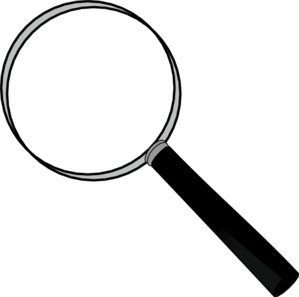 Magnifying clipart. Free glass cliparts download