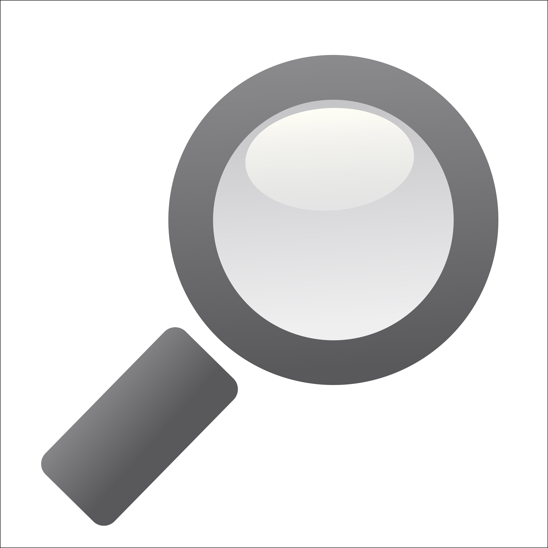 Magnifying clipart. Glass free stock photo