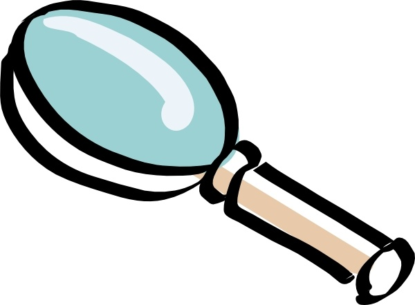 Magnifying clipart. Glass drawing at getdrawings