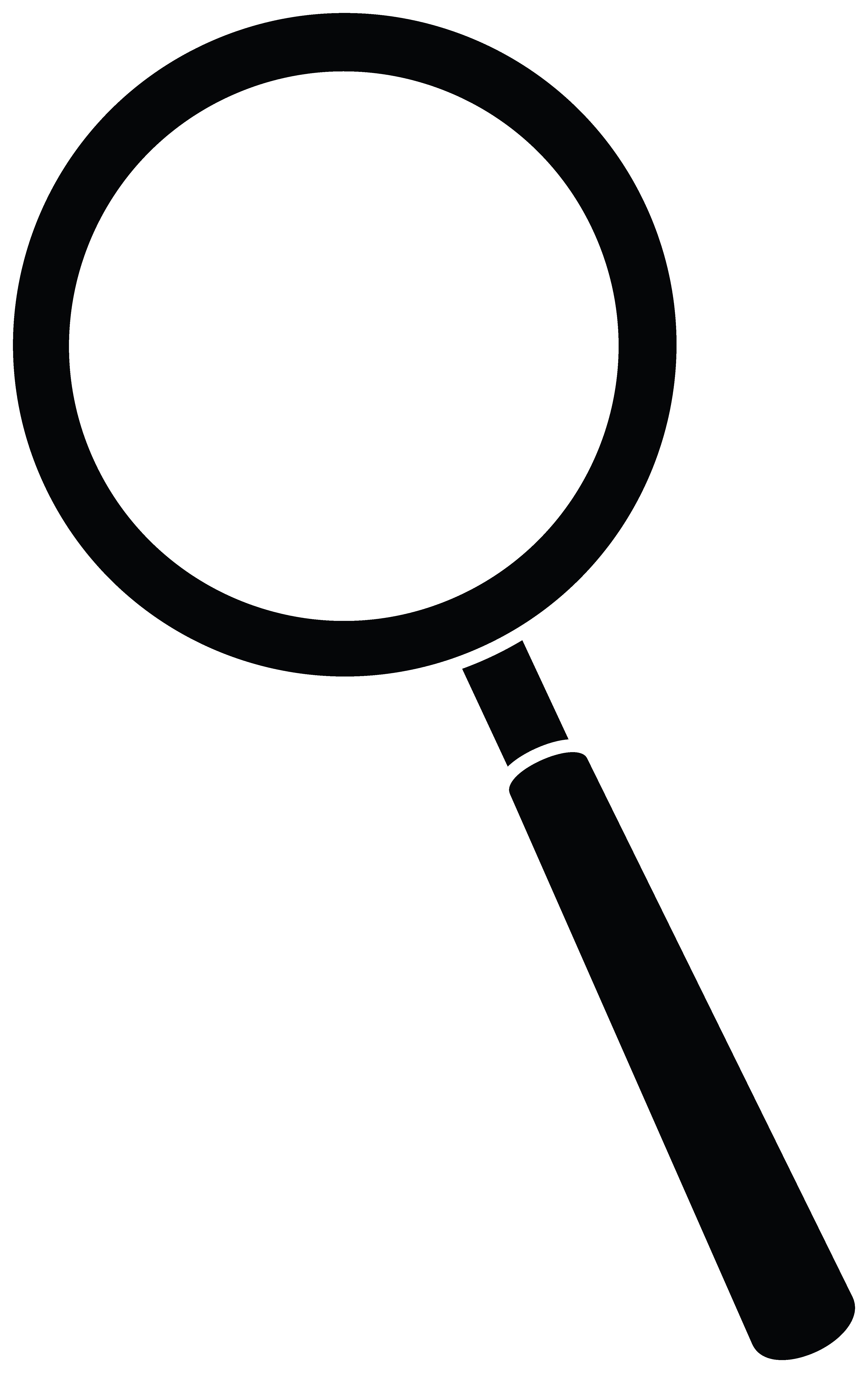Magnifying clipart. Glass