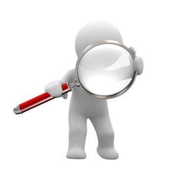 Magnifying clipart background check. Vox m dica dr