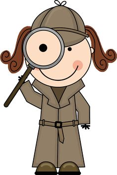 Magnifying clipart binoculars. Detective with this is