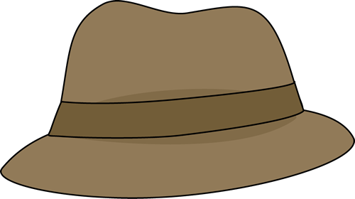 Magnifying clipart detective hat.