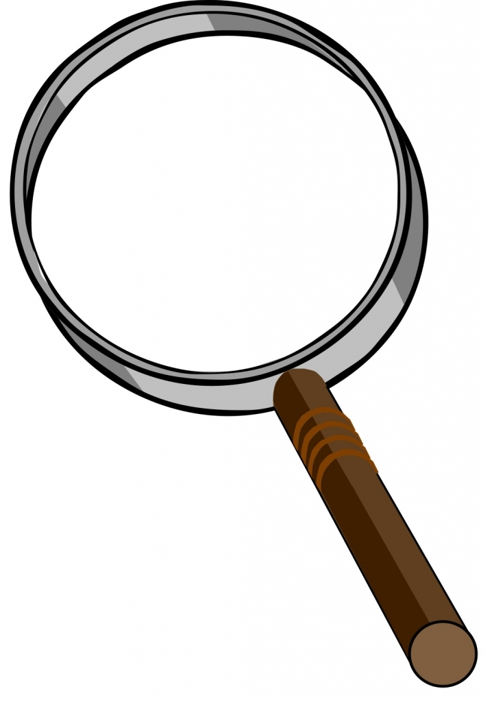Magnifying clipart magnifying lens. Glass detective with free