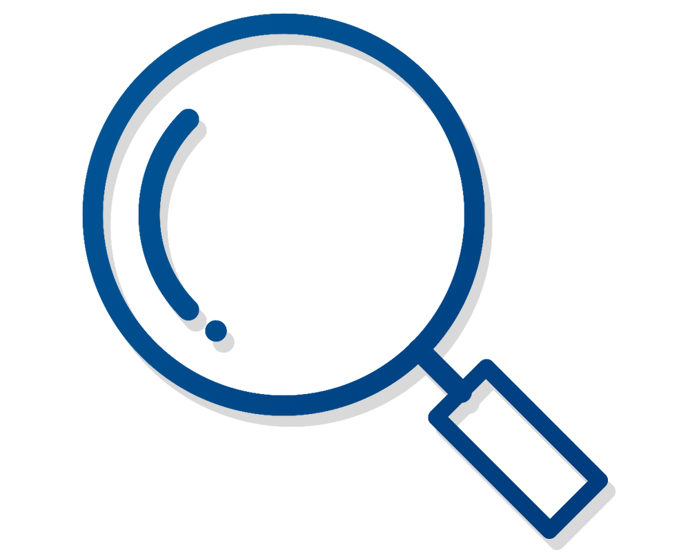 Magnifying clipart minimalist. Office of the provost