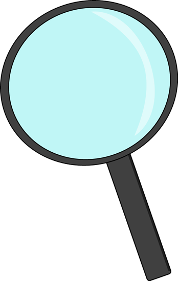 Magnifying clipart printable. Glass