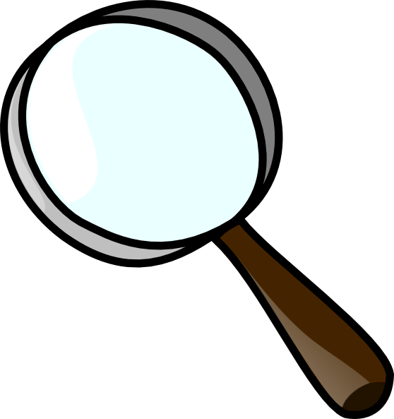 Magnifying clipart. Magnifier clip art at