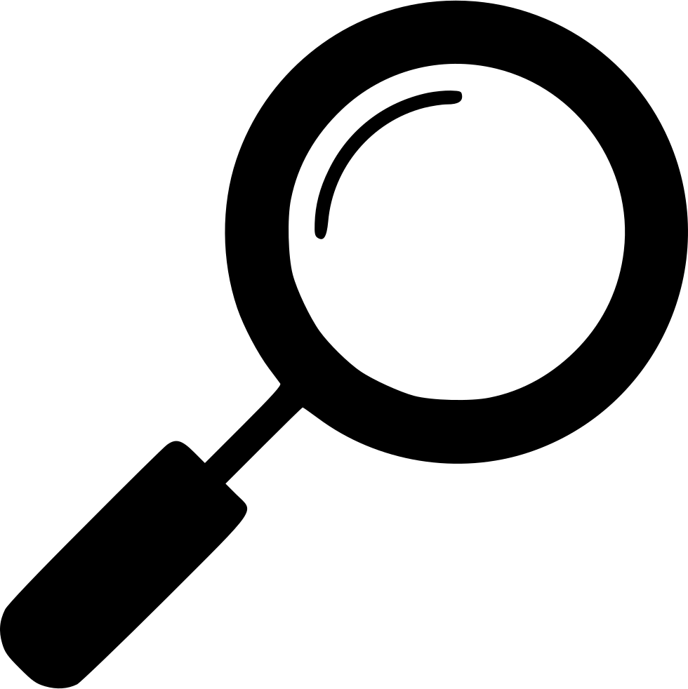 Magnifying glass icon png. Svg free download file