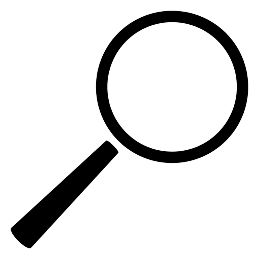 Magnifying glass png no background. Search transparent svg vector