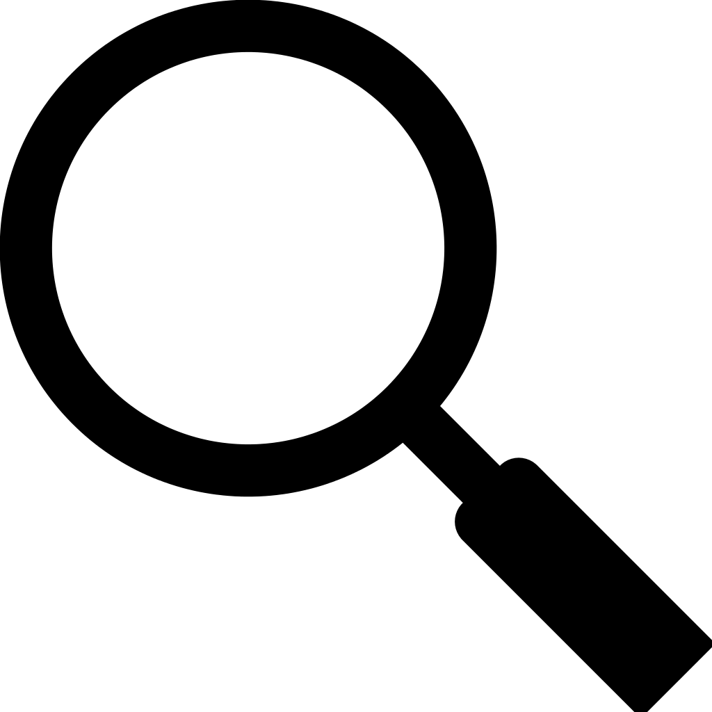 Magnifying glass png no background. Icon transparent stickpng download