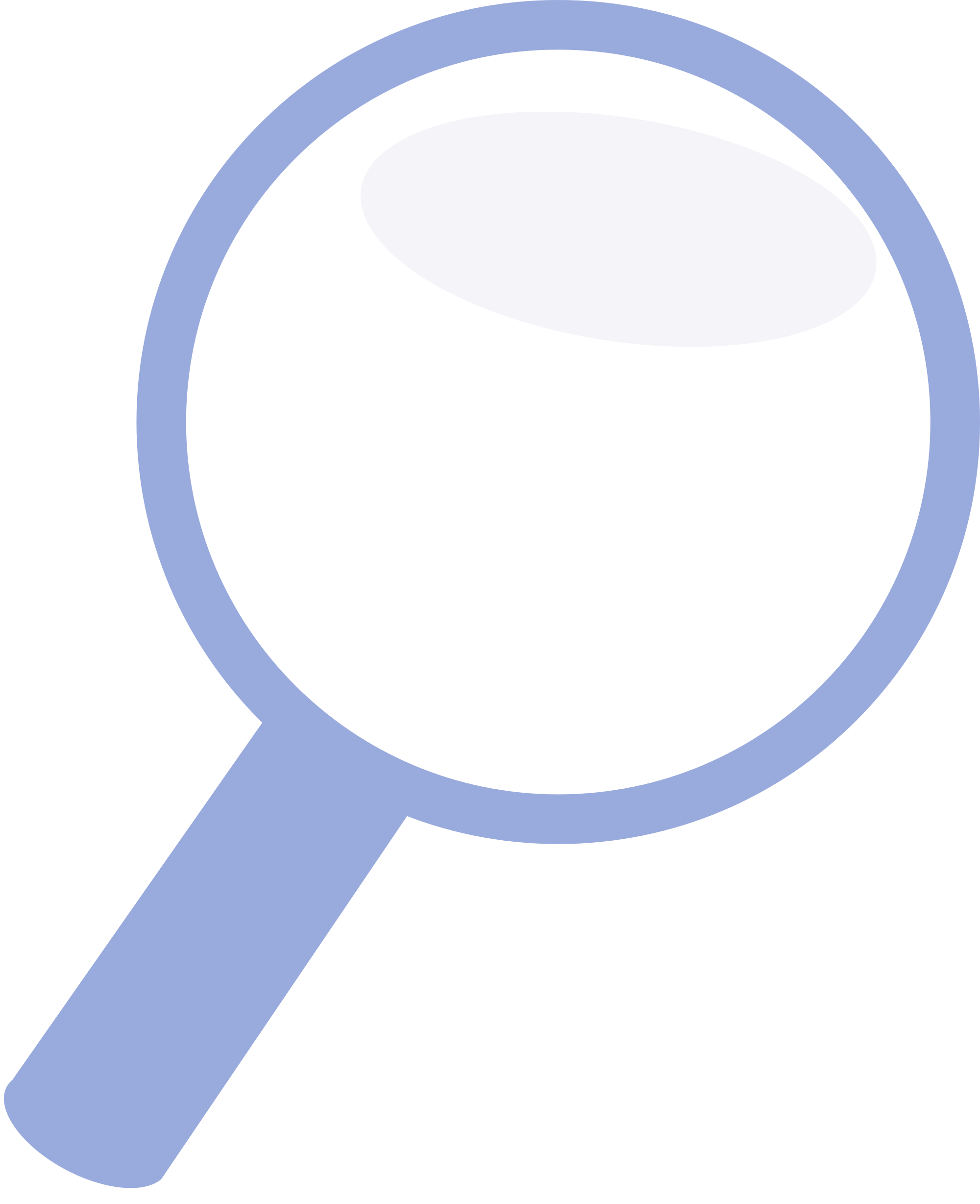 Tac vector magnifier. File blue magnifying glass