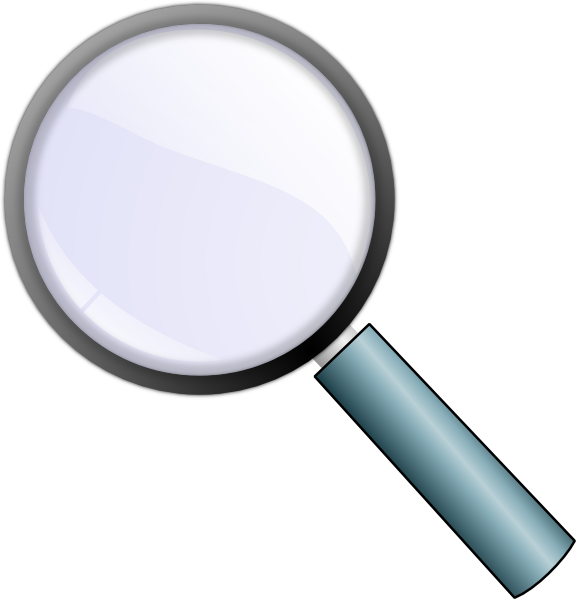 Magnifying glass transparent png. Clip art at clker
