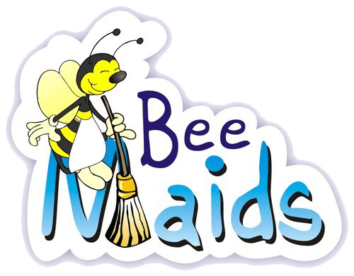 Maid clipart full energy. House cleaning as a