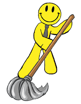 Maid clipart happy. Clean llc cleaning service
