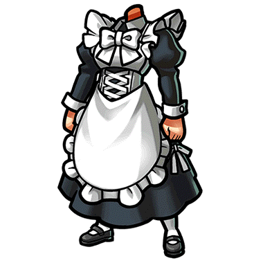 Maid clipart maid outfit. Full gear unison league