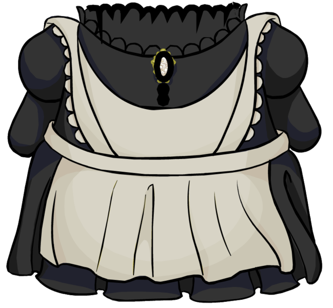 Club penguin wiki fandom. Maid clipart maid outfit banner stock