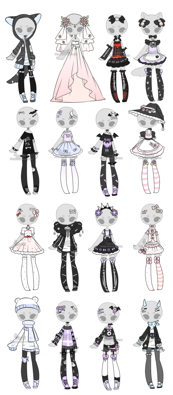 Maid drawing male. Stitches kitty flowers