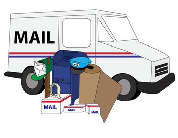 mail clipart postal service