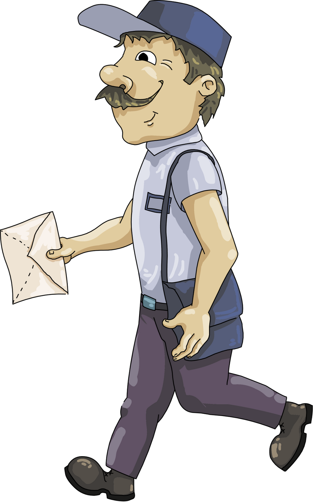 Mailman clipart office mail. Free postal cliparts download