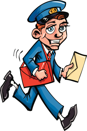 Mail clipart postal worker. At getdrawings com free