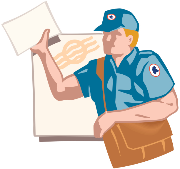 Mail clipart postal worker. Common causes of injuries