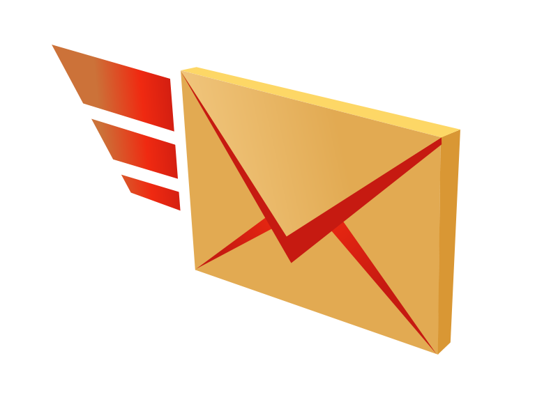 mail clipart sent mail