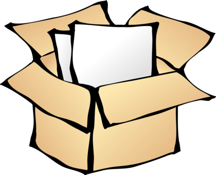 Mail drawing package. Parcel post delivery download