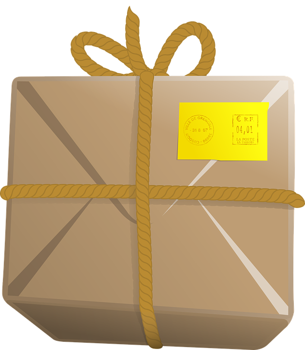 Mail drawing package. Ltl vs parcel shipping