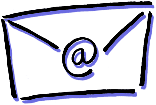 Mail drawing pile. Clipart free download on