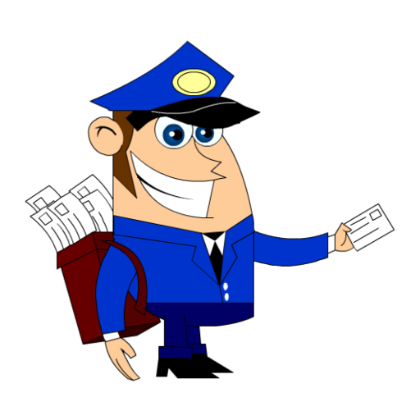 mail man png