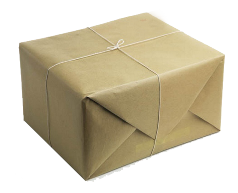 Mail package png. Send a book parcel