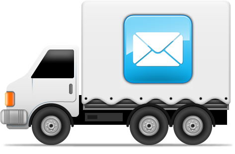 Mail truck png