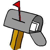 Us mailbox png. Download objects category clipart