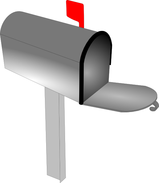 Transparent images pluspng small. Mailbox png clipart black and white library