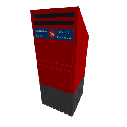 Mailbox post png. Canada roblox