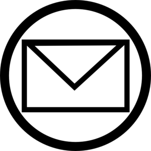 Mailbox vector black and white. Collection of free addressed
