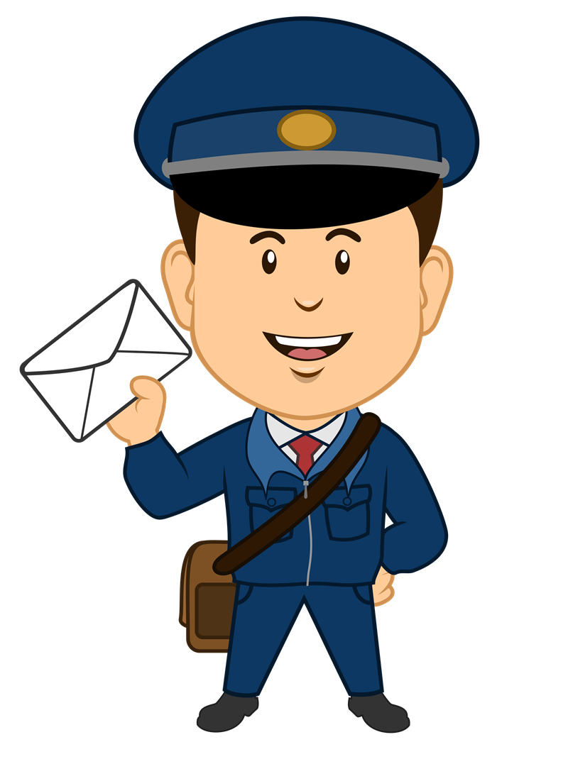 Free cliparts download clip. Mailman clipart banner stock