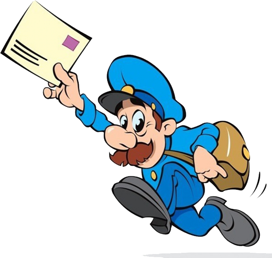 Postman png image purepng. Mailman clipart graphic black and white