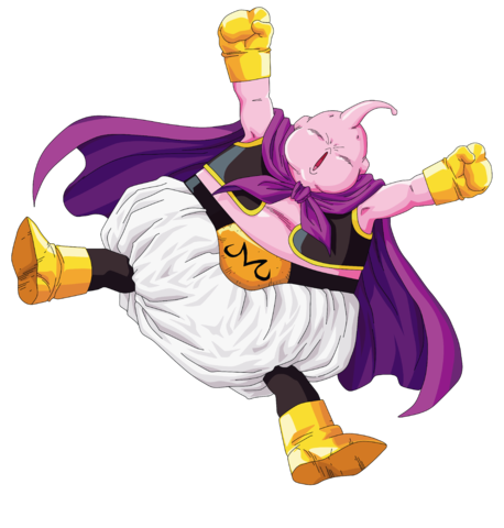 Majin buu m png. Image render extraction by